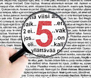 Vakuutusten hintaan vaikuttavat 5 asiaa [kuva]